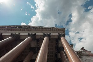 St. Isaac's Cathedral -1818 year of foundation colonnade, Saint Petersburg