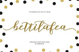 Bettilafea Font Duo