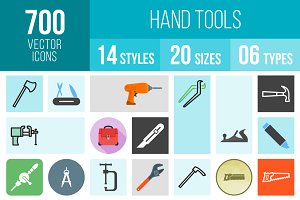 700 Hand Tools Icons