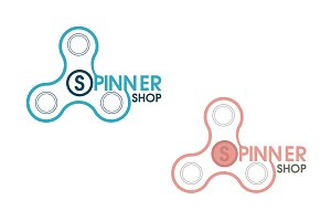 Spinner shop logo