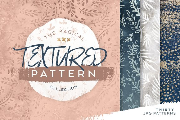 magical textured pattern collection graphic patterns creative market