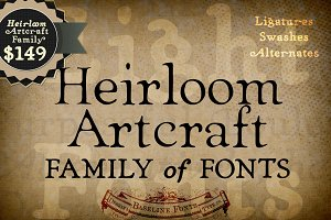 Heirloom Artcraft Family