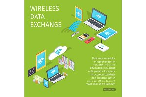 Wireless Data Exchange Equipment for Connection