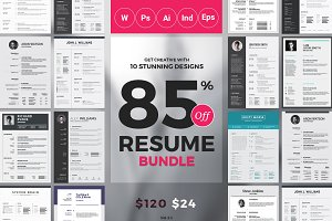 Best 10 Resume/CV Bundle
