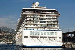 Yachts moored in Monaco
