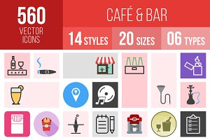 560 Cafe & Bar Icons