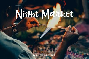 Chiang Mai Night Market Photo Pack
