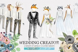 WEDDING CHARACTER CREATOR