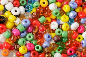 Beads background