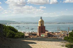 Clock Tower in St Tropez