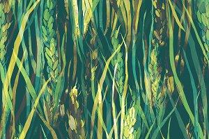 wild herbs spattern | JPEG