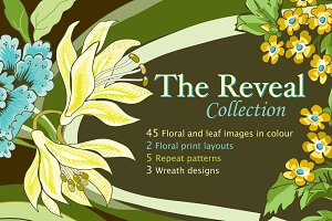 Reveal - Floral and Leaf Designs