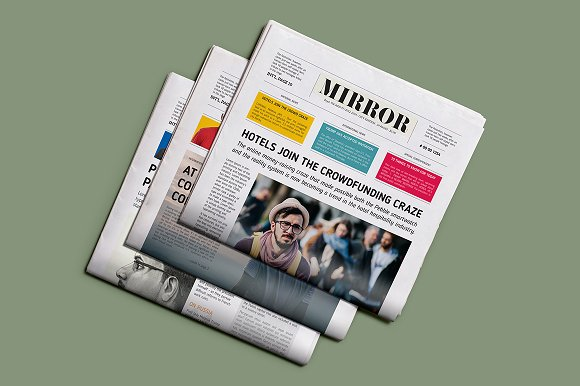 Mirror NewsPaper Template