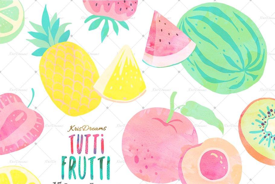 Tutti Frutti Custom Designed Illustrations Creative Market
