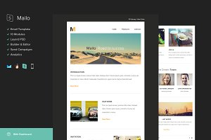 Mailo Email Template + Builder