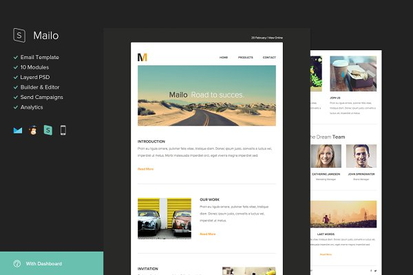 Mailchimp Templates Creative Market
