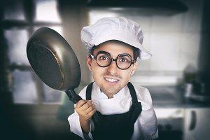 Bakery man