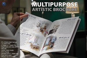 Multipurpose Artistic Brochure