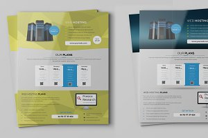 Web Hosting Flyers Template