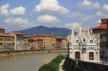 City view of Pisa