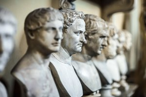 Antique Italian busts