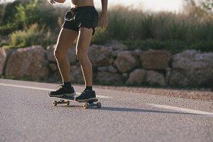 Skater silouhette
