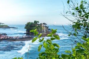 Pura Tanah lot temple, Bali island, Indonesia.