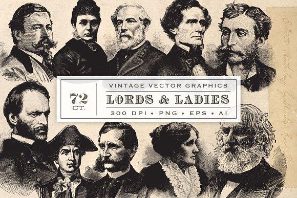 Vintage Lords Ladies Vol 2