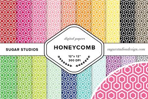 Honeycomb Digital Background Papers