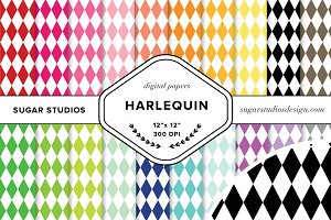 Harlequin Digital Background Papers