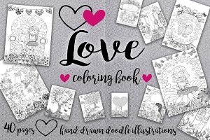 Love love love coloring book*