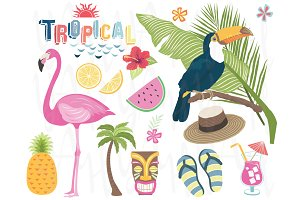 Tropical Vector Elements