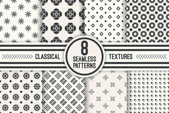 Classical Seamless Patterns
