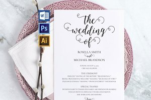 Wedding Program WPC189