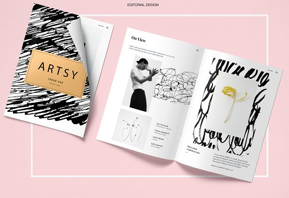 Calligraphy inspired patterns in Patterns - product preview 8