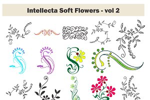 Intellecta Soft Flowers vol 2