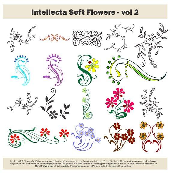 Intellecta Soft Flowers Vol 2