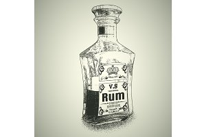 Bottle of Rum
