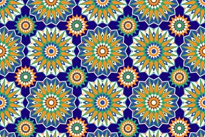 Mosaic Seamless Patterns.