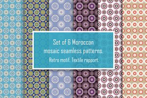 Mosaic Seamless Patterns