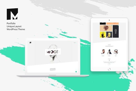 Mood Creative One Multi Page Theme