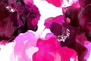 wild rose seamless pattern | JPEG