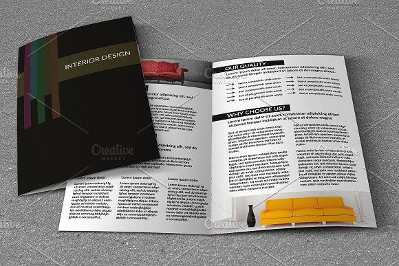 Interior Brochure Template-V742
