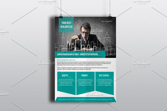 Corporate Flyer Template V590