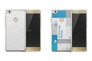 Huawei P8 Lite (2017) 2d Case Mockup