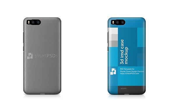 Xiaomi Mi6 Phone Case Mockup