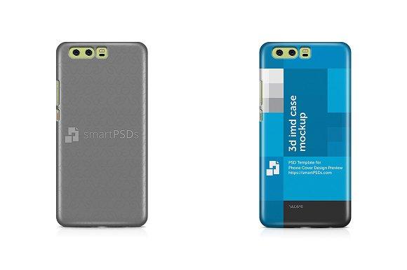 Huawei P10 Plus Phone Case Mockup