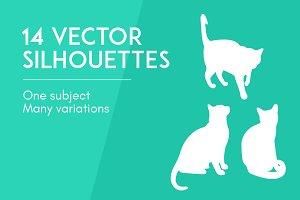 Vector silhouettes - Kami