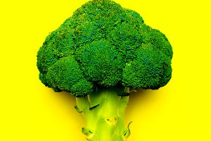 Broccoli Vegan minimal art