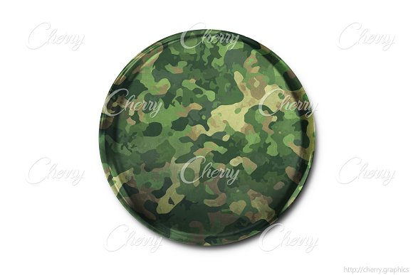 Military Camouflage Badge